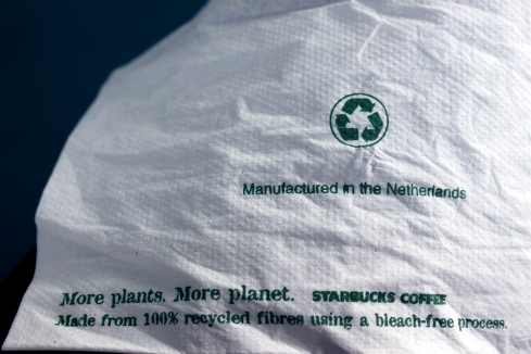Dutch Starbucks Napkin